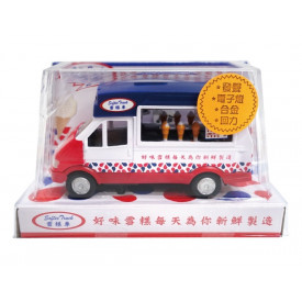 新興玩具 移動販売のアイスクリーム屋 光る&音声真似 14cm × 8.5cm × 6cm