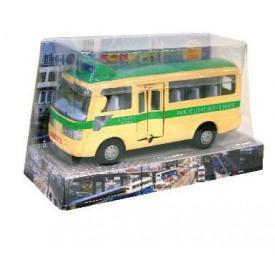 Sun Hing Toys Hong Kong Green Public Minibus 16.5cm x 9.5cm x 7cm
