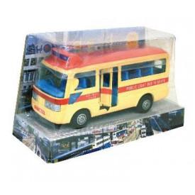 Sun Hing Toys Hong Kong Red Public Minibus 16.5cm x 9.5cm x 7cm