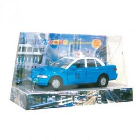 Sun Hing Toys Hong Kong Taxi Blue Color 17cm x 9.5cm x 7cm