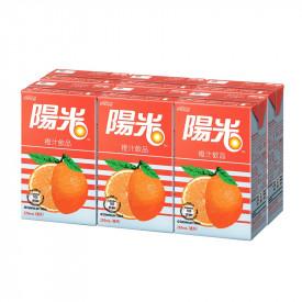 陽光 橙汁 250毫升 x 6包