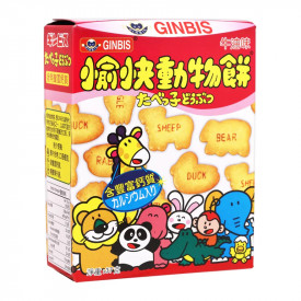 Ginbis Animal Biscuit Butter Flavoured 37g