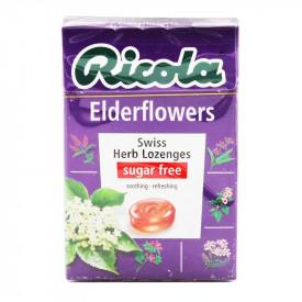 リコラ エルダーフラワーハーブキャンディー シュガーフリー 45g