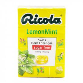 リコラ レモンミントハーブキャンディー シュガーフリー 45g