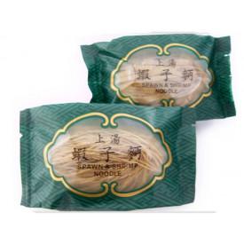 安利製麺廠 えびとえびの卵麺(太麺) 2袋
