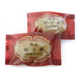 安利製麵廠 頂級蝦子麵 粗麵 2包