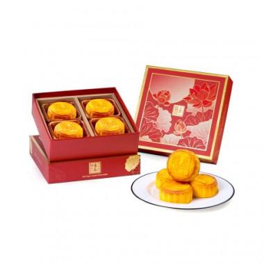 香港半島酒店 迷你奶黃月餅 4個