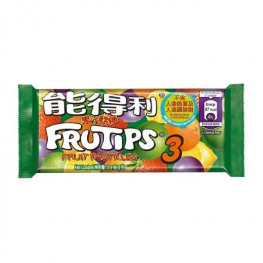 能得利 砂糖をまぶしたフルーツグミ 45g × 3