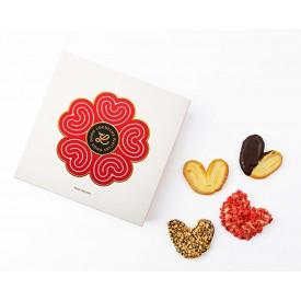龍島 千層酥禮盒 原味、朱古力、士多啤梨和榛子味 8片裝
