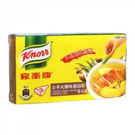 家樂牌 金華火腿味雞湯粒 60克