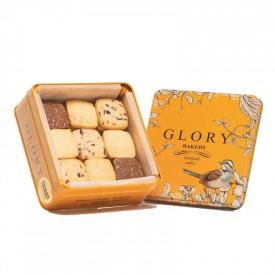 Glory Bakery 4味曲奇禮盒 溫馨茶聚 320克