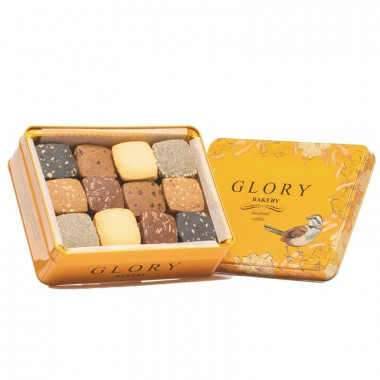 Glory Bakery 6 Flavors Cookies Set Party 500g