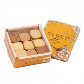 Glory Bakery 4味曲奇禮盒 港式茶餐廳 320克